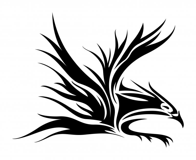 Gambar Tribal Eagle