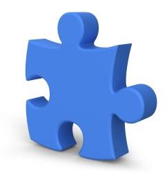 single jigsaw puzzle piece 3d symbol psdgraphics [ 5000 x 3750 Pixel ]