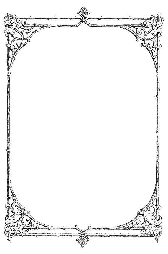White And Page Border Black Polka Clip Art Dot