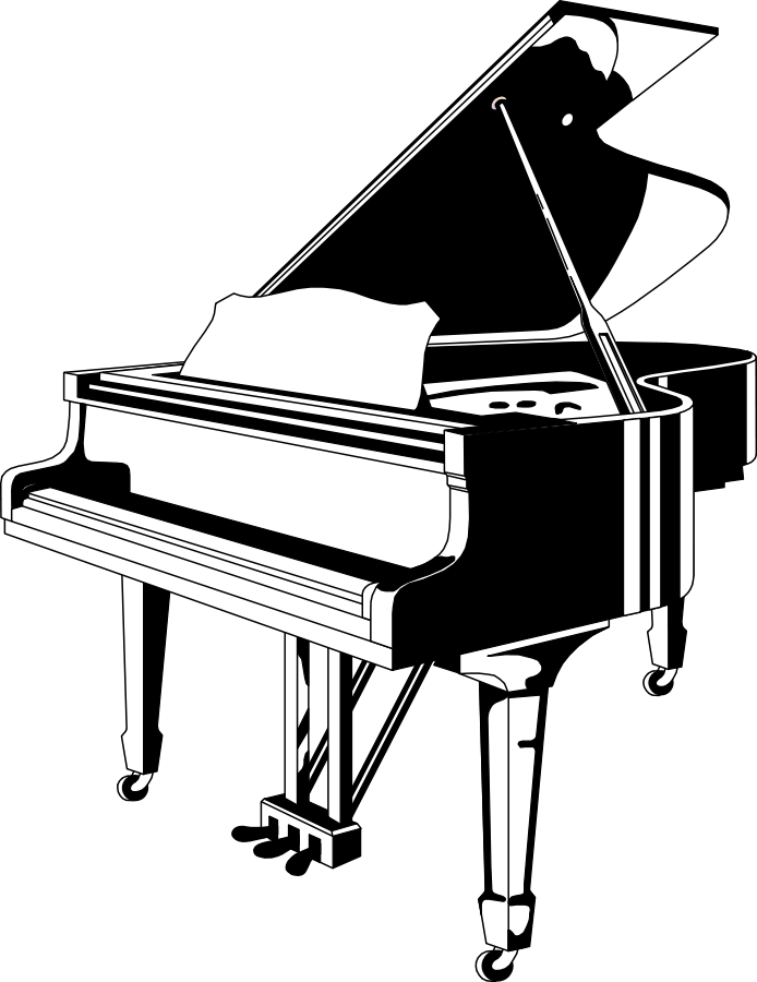 Free Pictures Of A Piano Keyboard, Download Free Clip Art