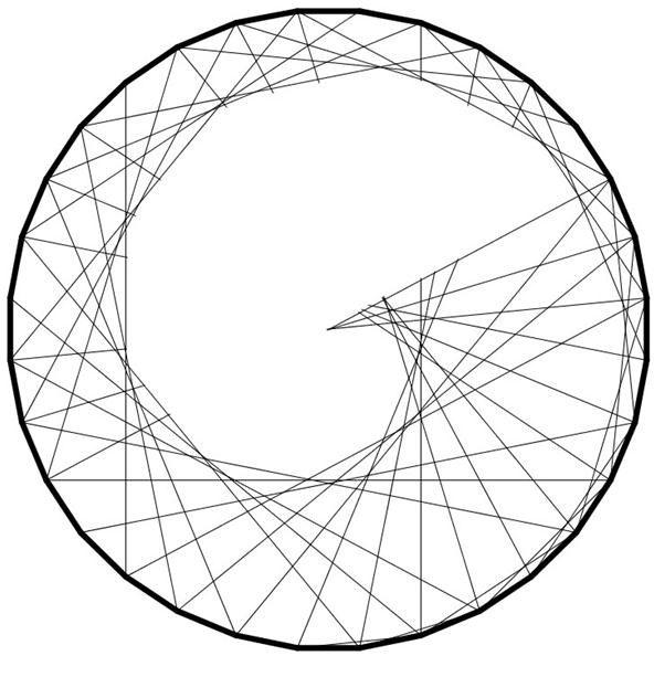 Printable 360 Degree Chart. blank astrology wheel ...