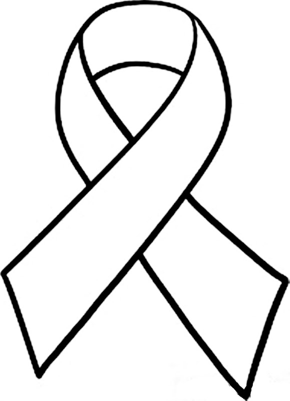 Free Cancer Ribbon Outline, Download Free Clip Art, Free