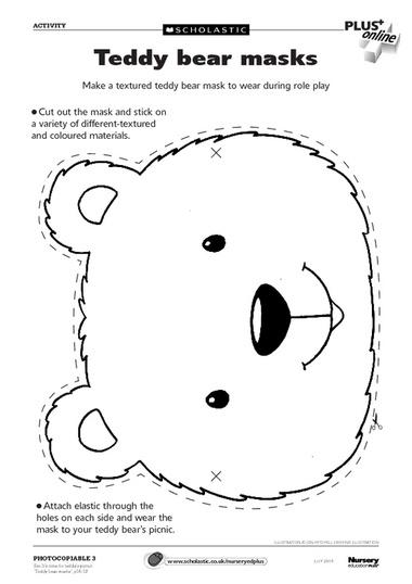 Free Teddy Bear Head Outline, Download Free Clip Art, Free