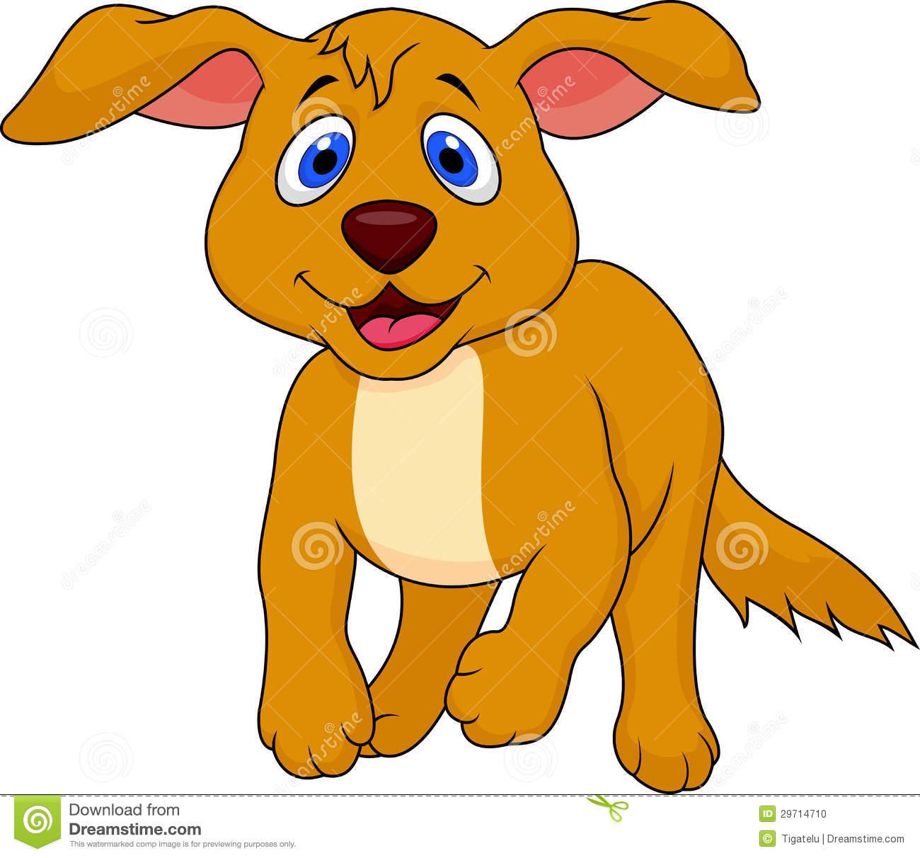 Dog Easy Cute Cartoon Clip Art Library