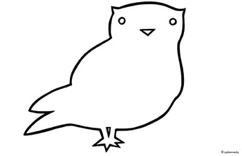 Free Owl Outline, Download Free Clip Art, Free Clip Art on