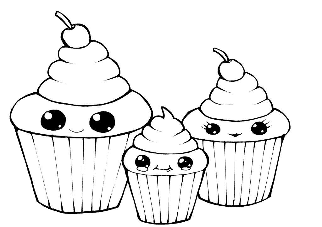 Drawing Cupcake