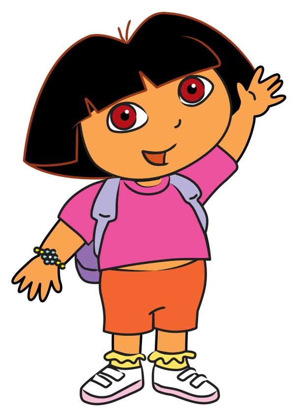 Draw Dora Explorer 11 Steps With