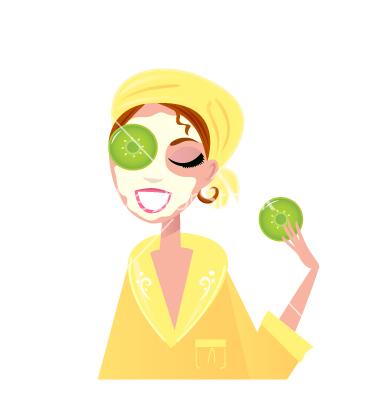 free spa cartoon images