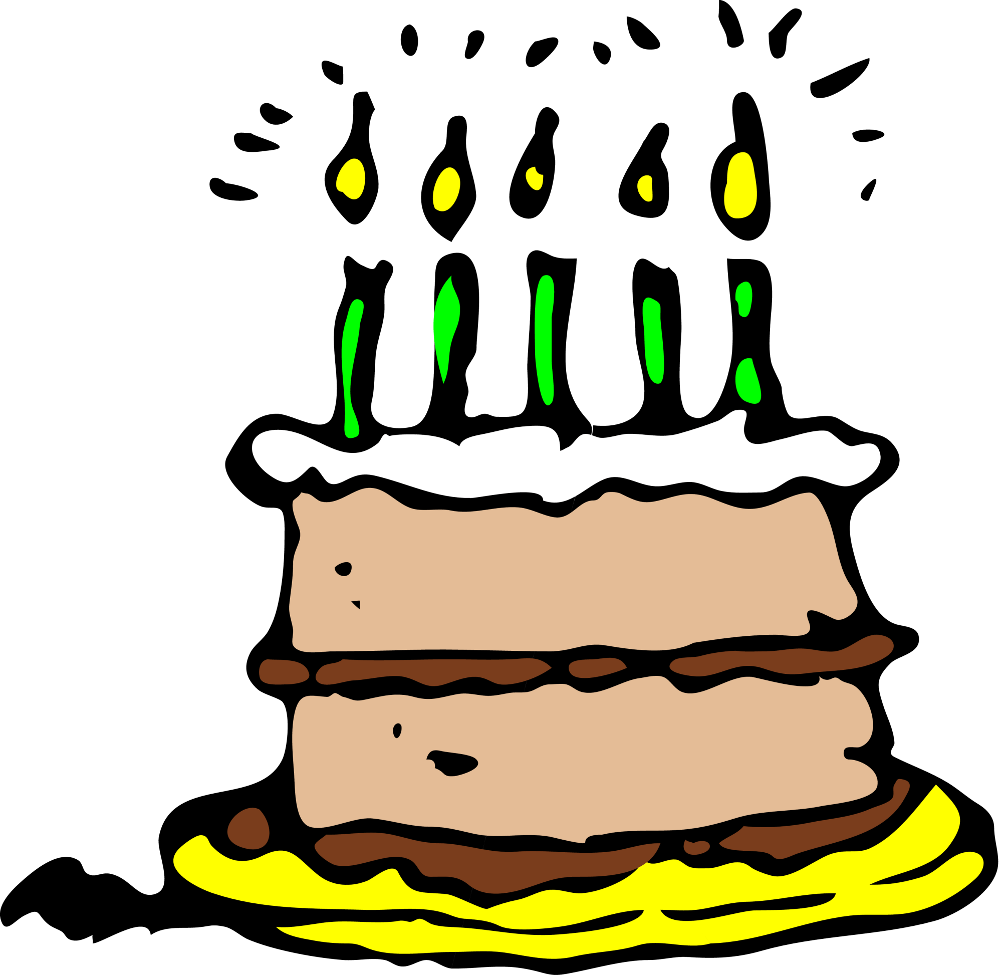 hight resolution of birthday cake clip art png clipart library free clipart images