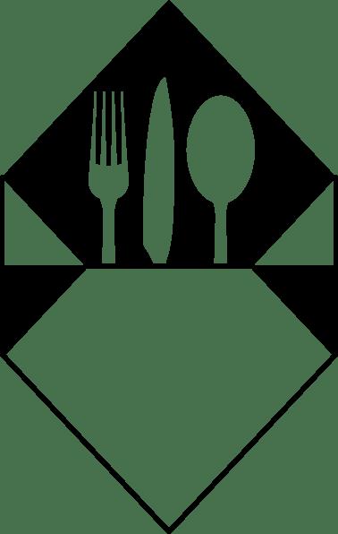 Dinner Clipart Black And White : dinner, clipart, black, white, Black, White, Dinner, Library