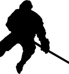 hockey player silhouette [ 2810 x 1935 Pixel ]