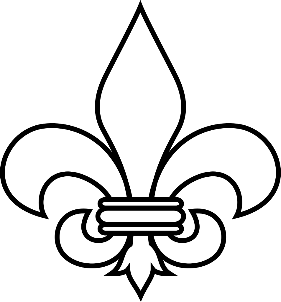 hight resolution of file fleur de lis outline svg wikipedia the free