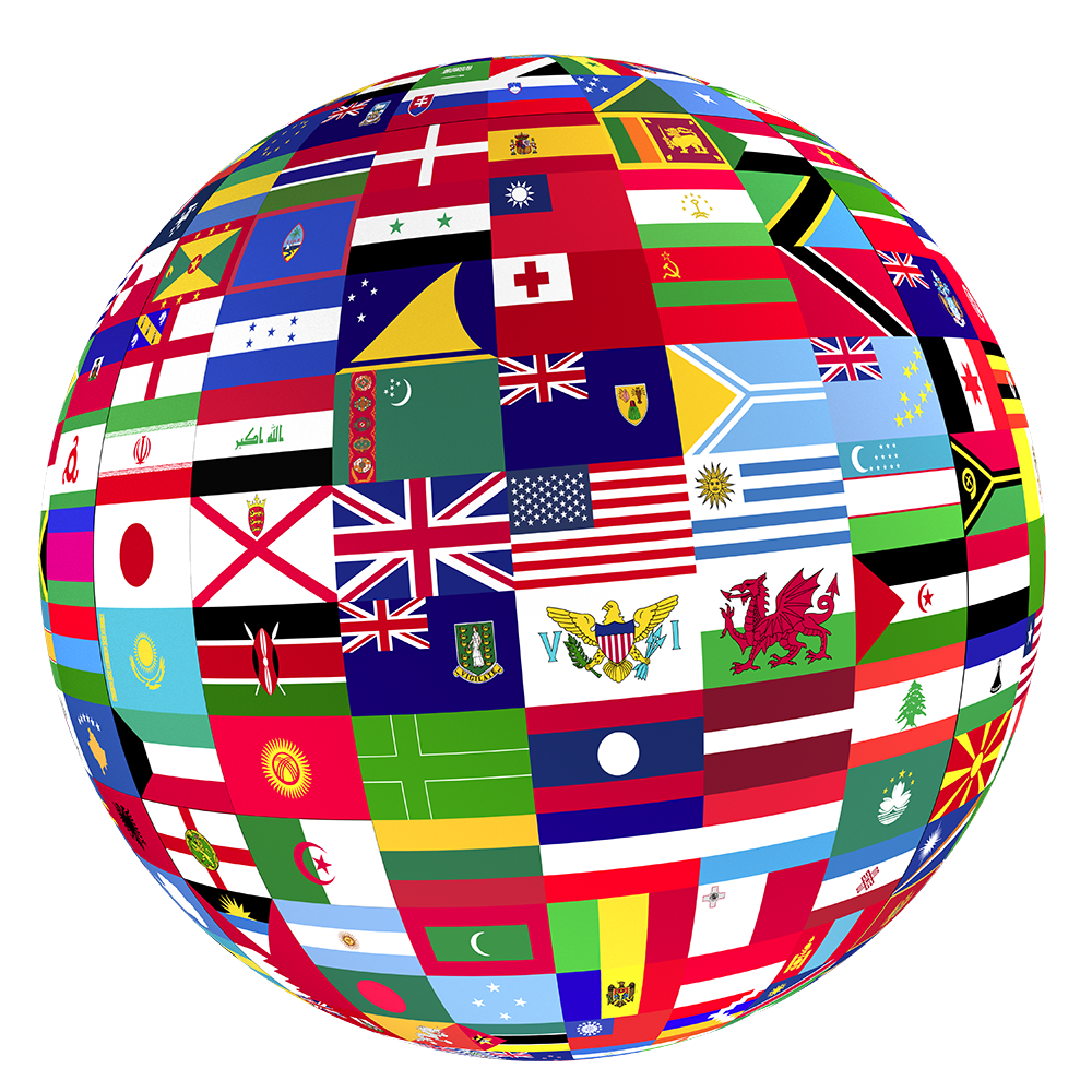 hight resolution of flags of the world globe icon free icons