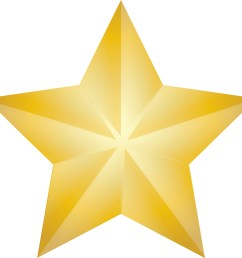 clip art illustration of a shining gold christmas star st [ 2400 x 2283 Pixel ]