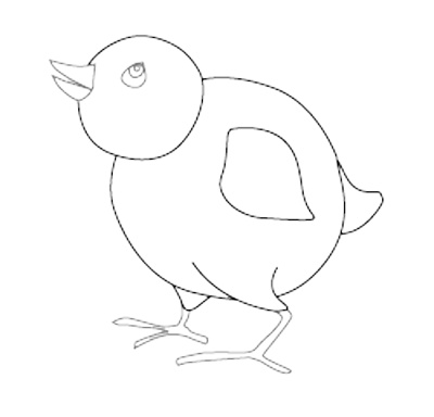 Free Bird Outline Drawing, Download Free Clip Art, Free
