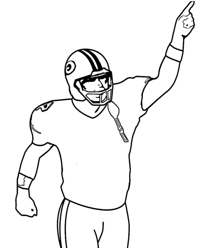 Free How To Draw A Football Player, Download Free Clip Art