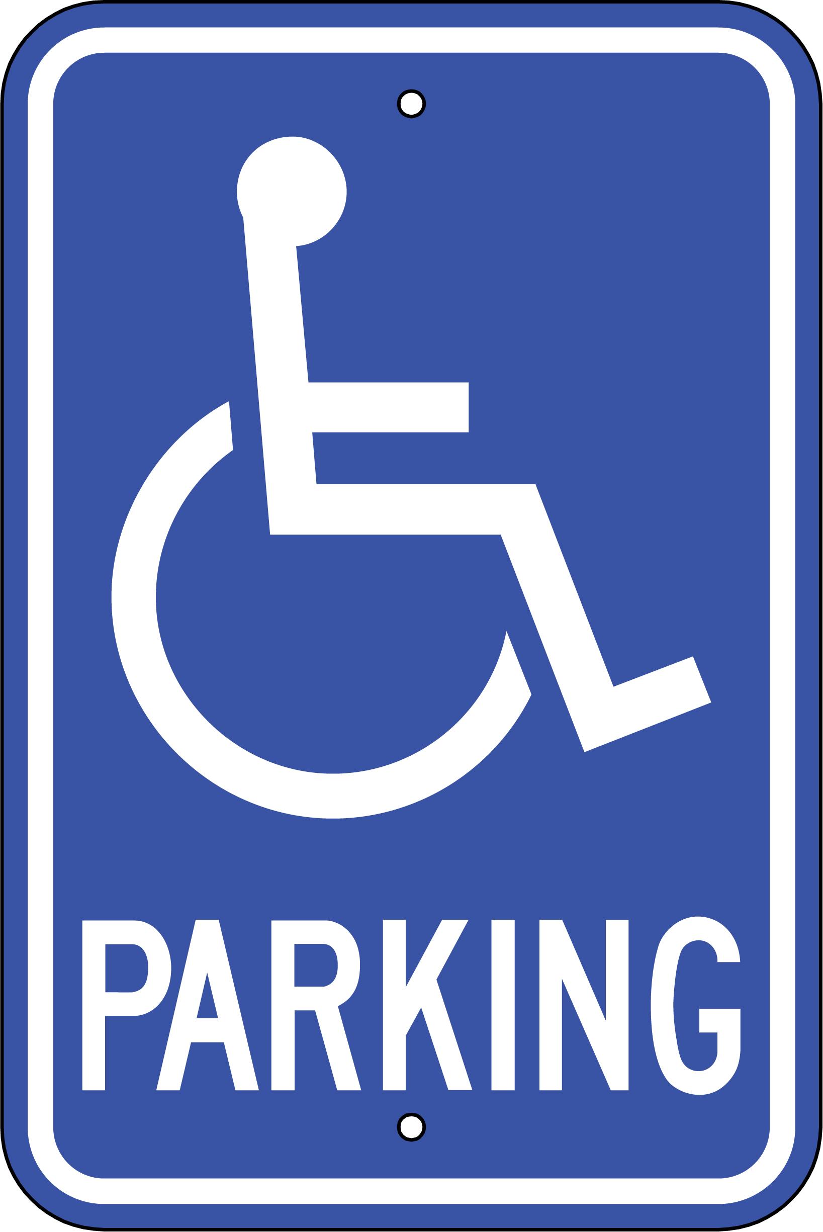 Free Printable Handicap Sign, Download Free Clip Art, Free