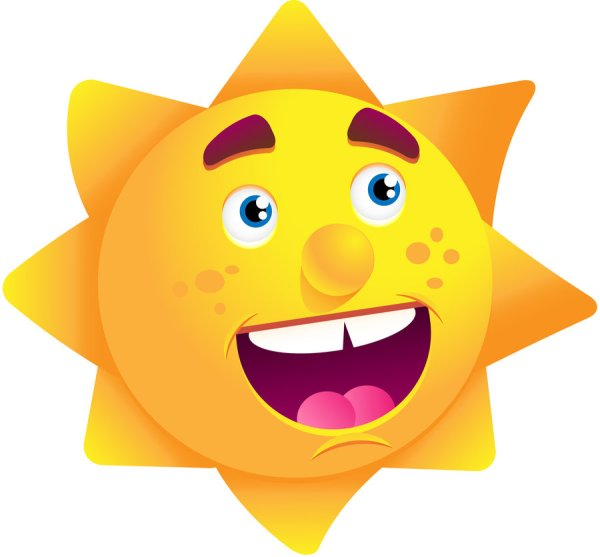 Happy Sun Victor-oliveira Clipart Library