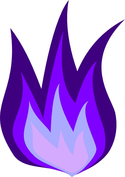 Purple Fire Transparent : purple, transparent, Purple, Transparent,, Download, Clipart, Library