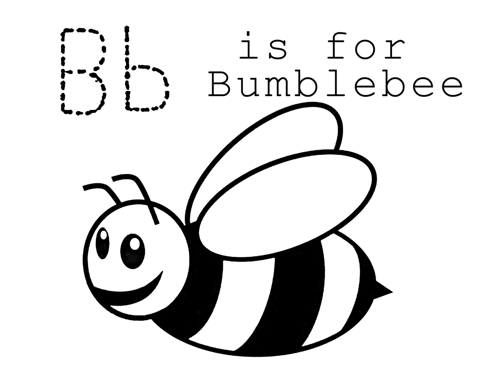 Free Bumble Bee Template Printable, Download Free Clip Art