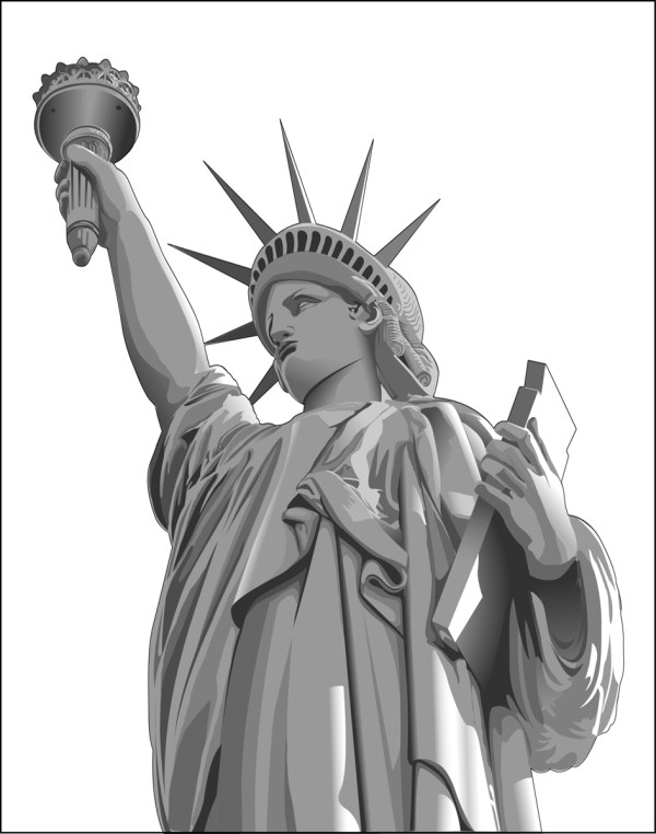 Free STATUE OF LIBERTY VECTOR Download Free Clip Art