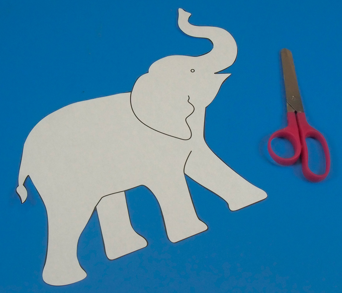 Free Elephant Stencil Download Free Clip Art Free Clip