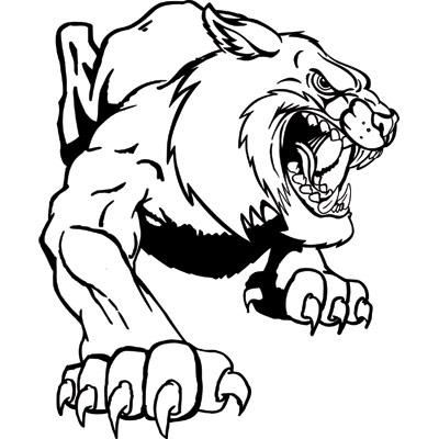 Free Wildcat Mascot Clipart, Download Free Clip Art, Free