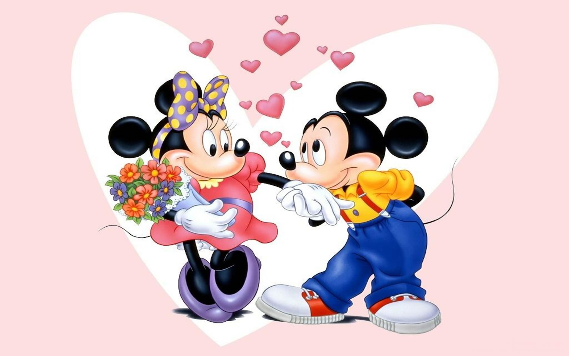 Free Mickey Mouse And Minnie Mouse Love Download Free Clip Art Free Clip Art on Clipart Library