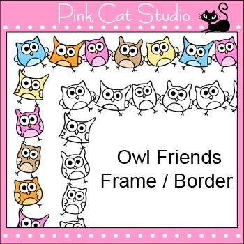 free owl borders download