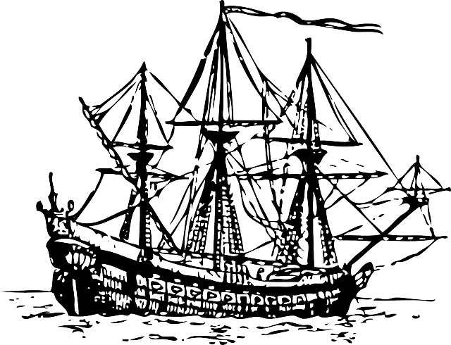 Free Boat Outline, Download Free Clip Art, Free Clip Art