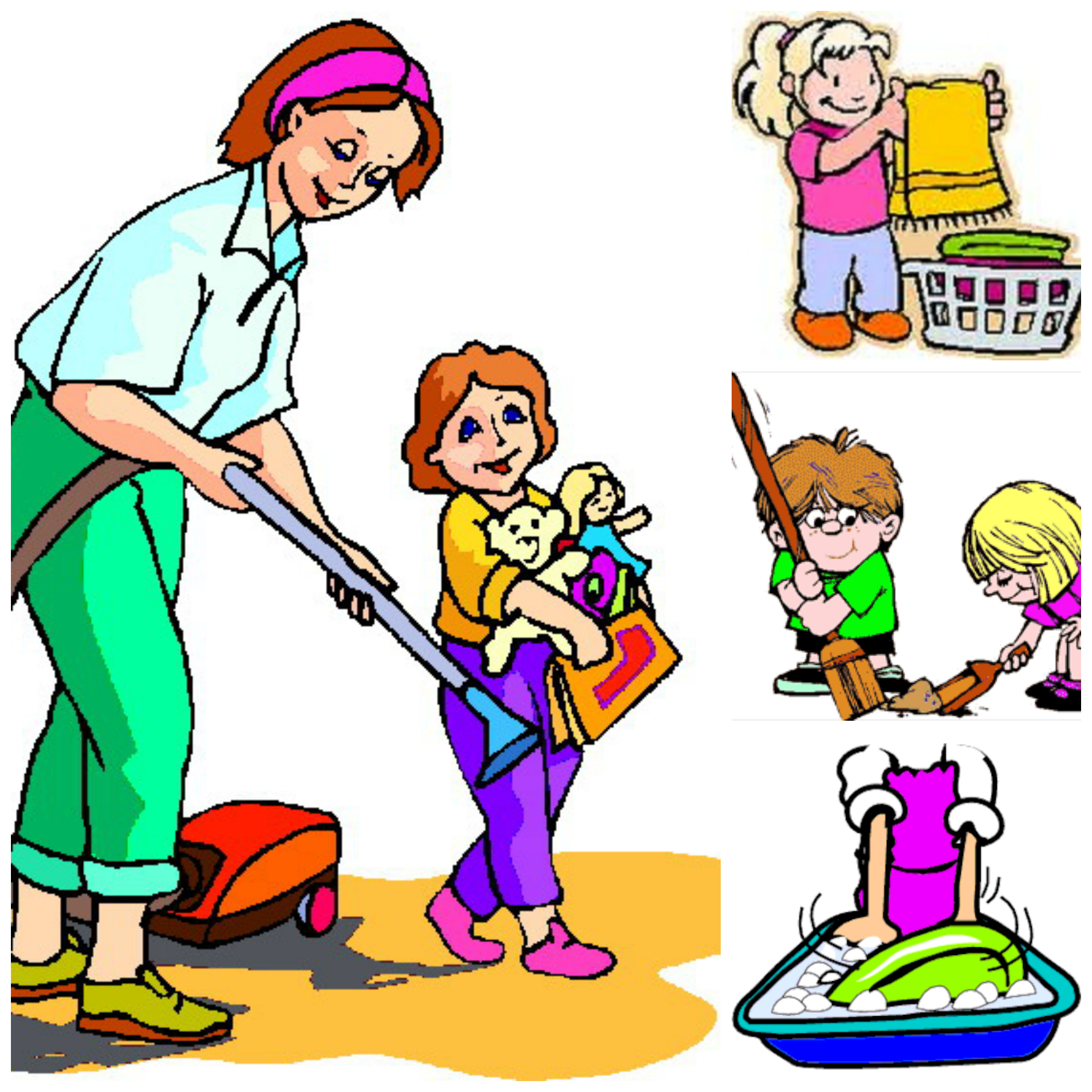 hight resolution of slave household chores chart pictures spanish free jpg clipart
