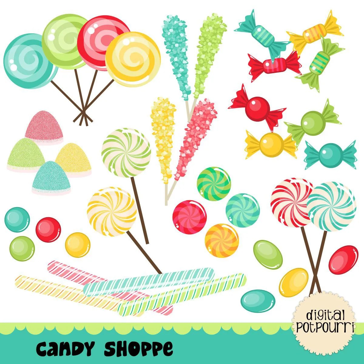 hight resolution of popular items for candy clipart on etsy