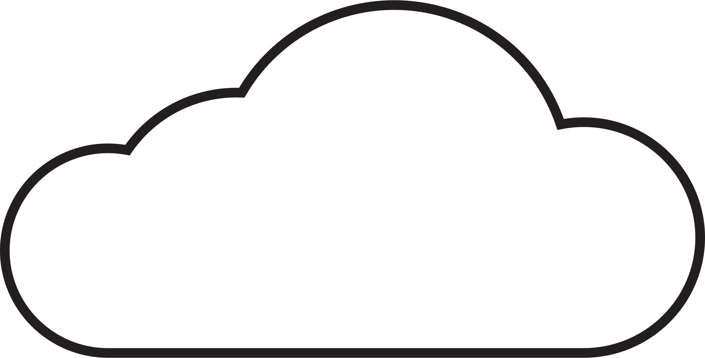Free Cloud Outline Download Free Clip Art Free Clip Art On Clipart Library
