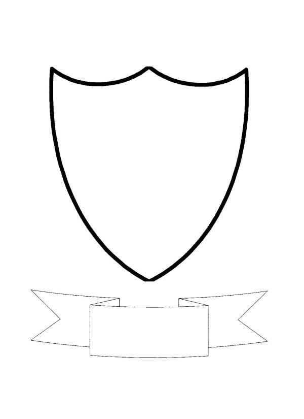 coat of arms templates - clipart