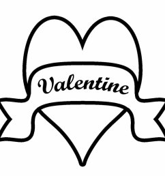 valentine clip art black and white 2014 download free word [ 1200 x 1200 Pixel ]
