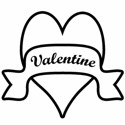 small resolution of valentine clip art black and white 2014 download free word