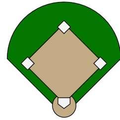 Little League Baseball Field Diagram Bmw E90 Audio Wiring Blank Diamond Clipart Library