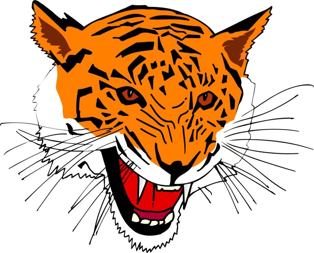 medium resolution of cartoon tiger clipart library