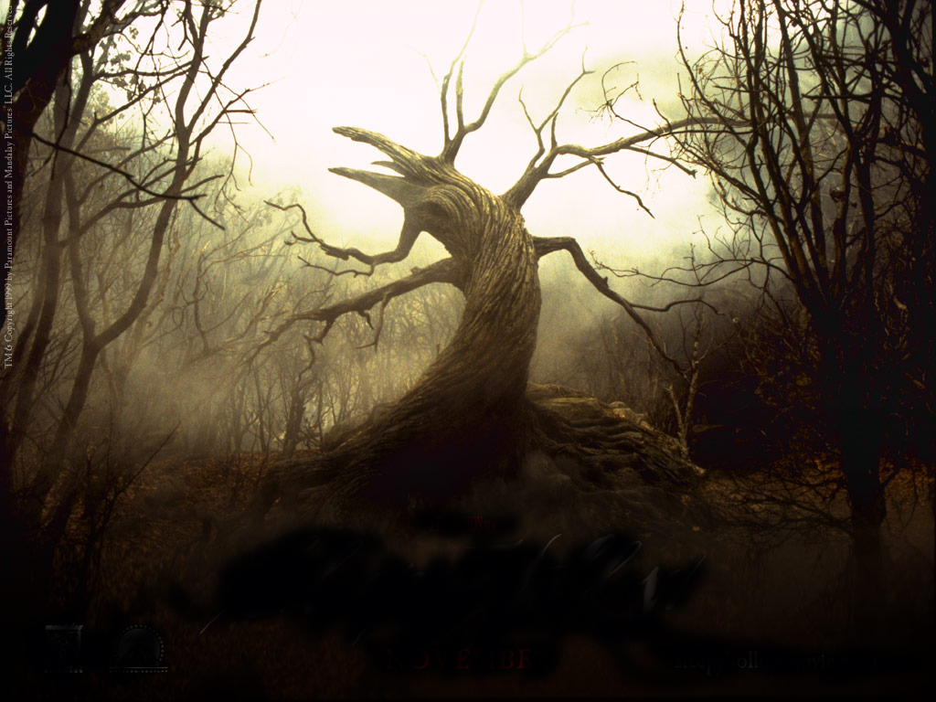 hight resolution of scary tree