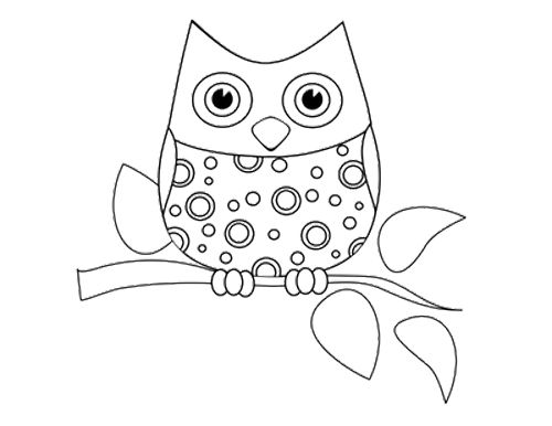 Free Cute Baby Owl Coloring Pages, Download Free Clip Art