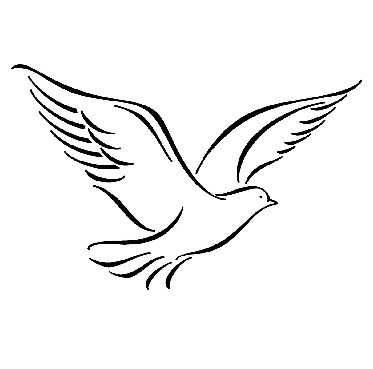 Free Flying Bird Drawing, Download Free Clip Art, Free