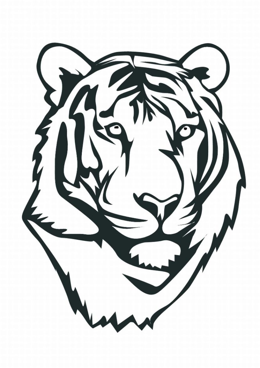 Tiger Printable Coloring Pages Animal Coloring Pages Kids