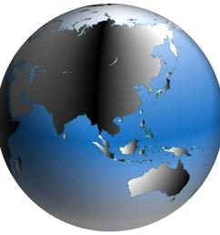 bigstock world globe asia with blue sh 168991  [ 900 x 900 Pixel ]