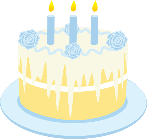 small resolution of free clipart birthday cake with candles