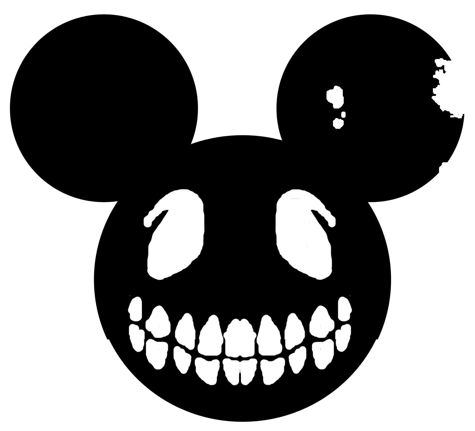 Deadmau5 Car Wallpaper Free Mickey Head Silhouette Download Free Clip Art Free