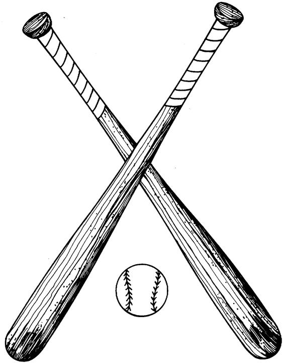 Free Pictures Of Baseball Bats, Download Free Clip Art