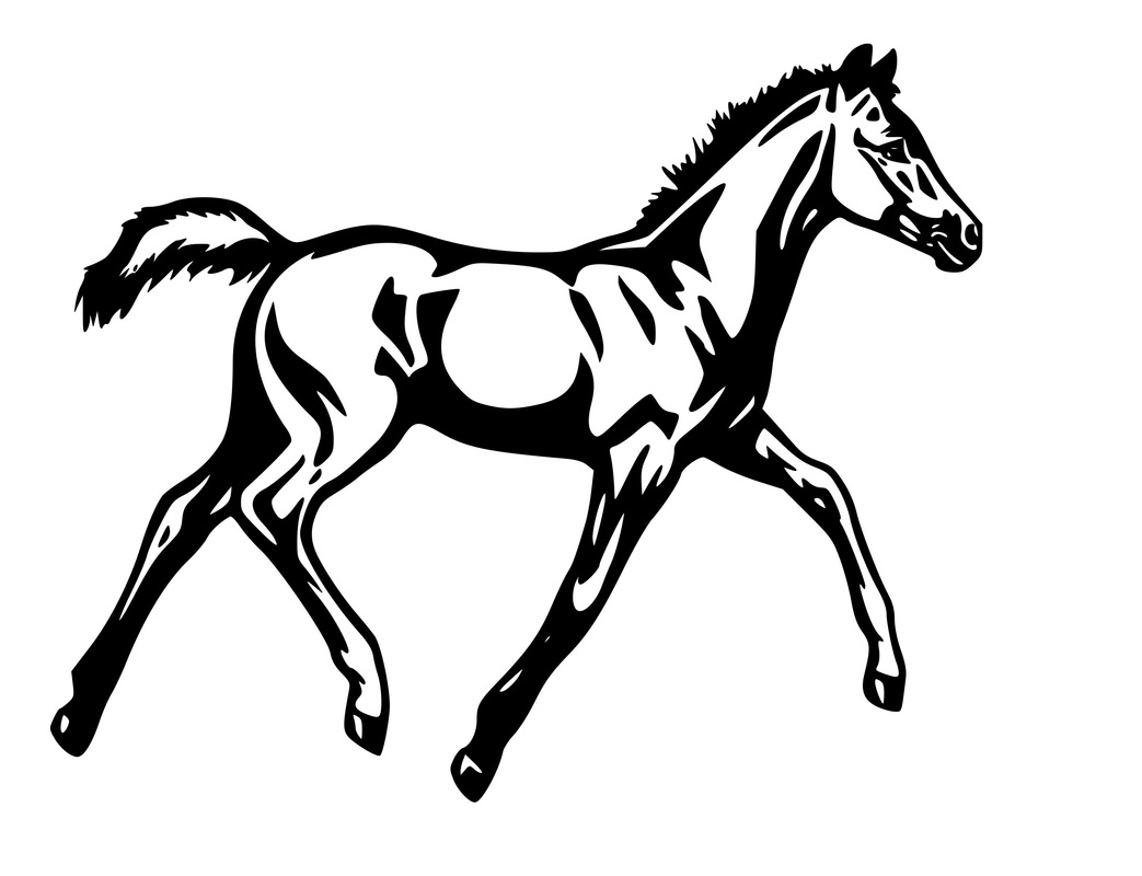 Free How To Draw A Mustang Horse, Download Free Clip Art