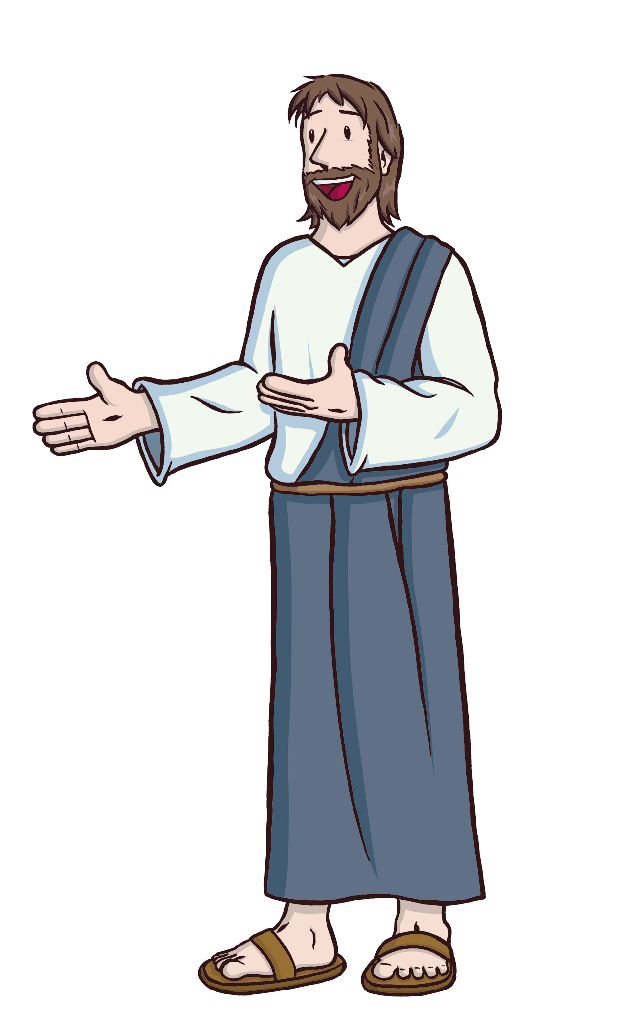 hight resolution of life of jesus clipart