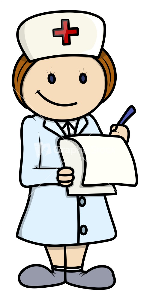 free cartoon of nurse