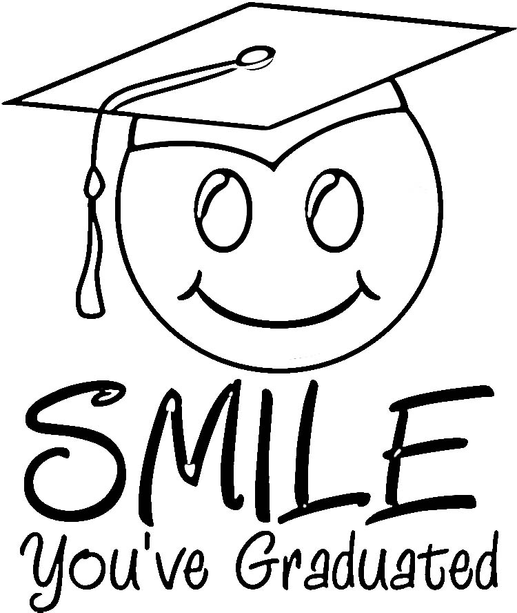 Free Graduation Cap Outline, Download Free Clip Art, Free
